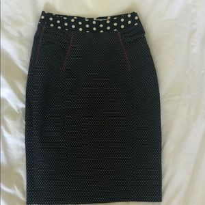 Sz 4 Anthropologie pencil skirt